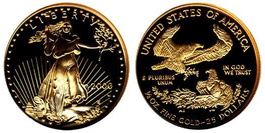 2000 Gold Eagle