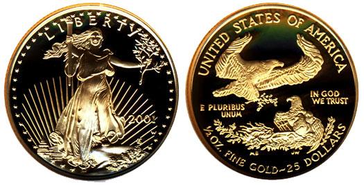 2001 Gold Eagle