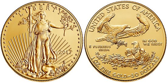 2017 American Gold Eagle