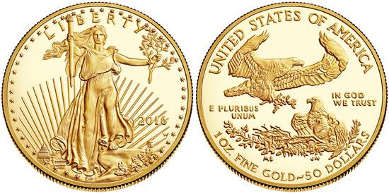 2017 Gold Eagle